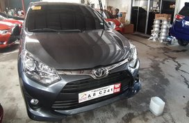 Selling 2nd Hand Toyota Wigo 2019 Automatic Gasoline at 10000 km in Quezon City