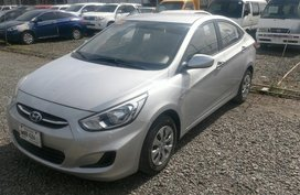 Selling 2nd Hand Hyundai Accent 2017 Automatic Gasoline at 9390 km in Cainta