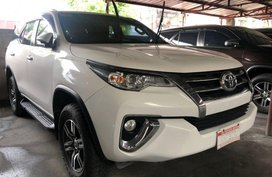 Selling White Toyota Fortuner 2017 Automatic Diesel in Quezon City