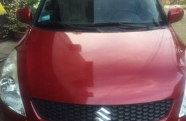 Selling Red Suzuki Swift 2012 Automatic Gasoline in San Mateo