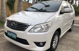 2nd Hand Toyota Innova 2013 at 60000 km for sale in Quezon City