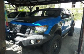 Blue Ford Ranger 2013 Truck for sale