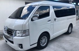 Sell 2nd Hand 2017 Toyota Hiace at 20000 km in Muntinlupa