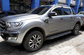 2nd Hand Ford Ranger 2017 for sale in Davao City