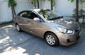 2014 Hyundai Accent Manual Gasoline at 51000 km for sale