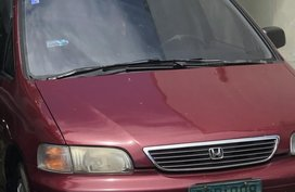 Selling Red Honda Odyssey 1995 at 12000 km