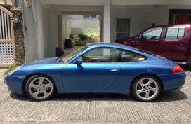 Selling Blue Porsche 911 Carrera 4 2001 Coupe in Pasig
