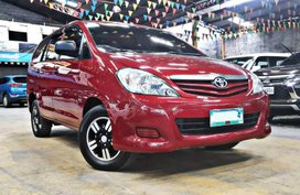 Sell Red 2010 Toyota Innova Manual Diesel in Quezon City