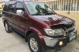 Red Isuzu Sportivo 2011 Manual Diesel for sale