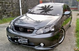 Grey 2002 Toyota Vios for sale in Manila