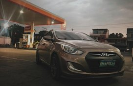 Hyundai Accent 2012 Manual Gasoline for sale in Calumpit