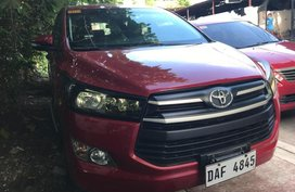 Sell Red 2017 Toyota Innova in Quezon City