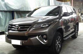 Sell 2nd Hand 2017 Toyota Fortuner at 6000 km in Antipolo