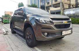 Sell 2nd Hand 2018 Chevrolet Trailblazer Automatic Diesel at 24000 km in Quezon City