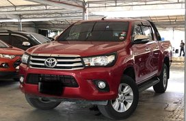 Selling 2nd Hand Toyota Hilux 2016 in Makati
