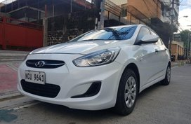 2nd Hand Hyundai Accent 2018 Manual Gasoline for sale in Quezon City