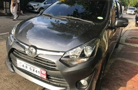 Selling Gray Toyota Wigo 2019 Automatic Gasoline in Quezon City