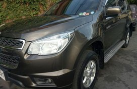 Selling Chevrolet Trailblazer 2015 Automatic Diesel in Quezon City
