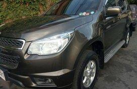 Selling Chevrolet Trailblazer 2015 Automatic Diesel in Quezon City