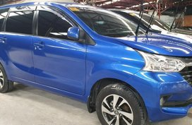 Sell Blue 2018 Toyota Avanza Manual Gasoline at 10000 km in Quezon City