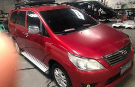 2nd Hand Toyota Innova 2013 Manual Diesel for sale in Quezon City
