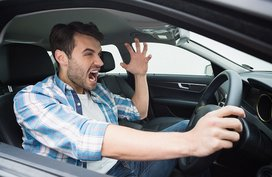 Tips to stay calm behind the wheel and avoid road rage