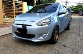 Sell 2nd Hand 2014 Mitsubishi Mirage Hatchback in Quezon City
