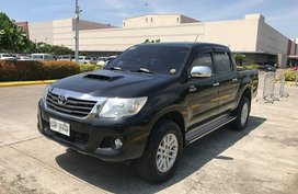Black Toyota Hilux 2014 for sale in Manila