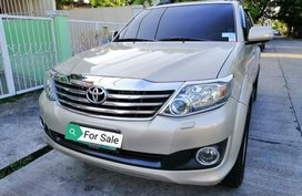 2nd Hand Toyota Fortuner 2012 for sale in Parañaque