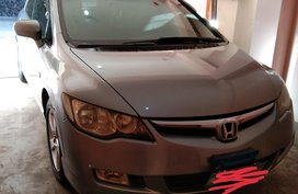 Selling Silver Honda Civic 2006 Sedan Automatic Gasoline in Baguio