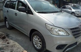 2nd Hand Toyota Innova 2015 Manual Diesel for sale in Marikina