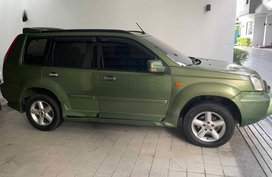 Green Nissan X-Trail 2005 for sale in Quezon City