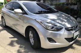 Silver Hyundai Elantra 2012 Sedan at 59000 km for sale
