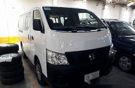 White Nissan Nv350 Urvan 2016 at 30746 km for sale