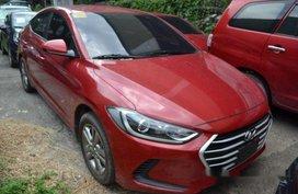 Red Hyundai Elantra 2016 at 27000 km for sale