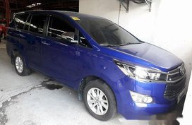Selling Blue Toyota Innova 2017 at 12336 km in Quezon City