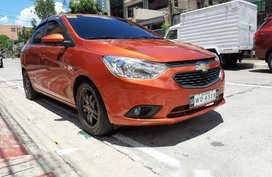 Orange Chevrolet Sail 2017 for sale in Quezon City