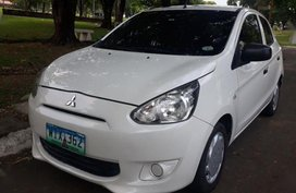 Selling 2nd Hand Mitsubishi Mirage 2013 Automatic Gasoline at 60000 km in Quezon City