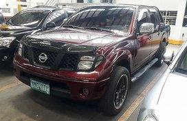 Red Nissan Frontier 2009 Automatic Diesel for sale