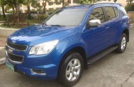 Selling Blue Chevrolet Trailblazer 2013 Automatic Gasoline at 55000 km in Mandaluyong