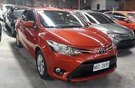 Orange Toyota Vios 2017 at 7432 km for sale