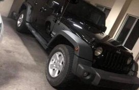 2nd Hand Jeep Wrangler 2016 Automatic Gasoline for sale in Mandaluyong