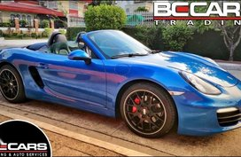 2nd Hand Porsche Boxster 2015 Convertible for sale in Quezon City