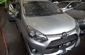 Sell Silver 2018 Toyota Wigo Automatic Gasoline at 8000 km