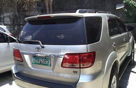 Toyota Fortuner 2007 Automatic Diesel for sale in Manila