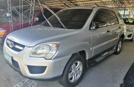 Silver Kia Sportage 2008 Automatic Diesel for sale
