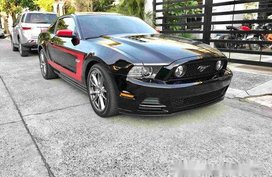 Black Ford Mustang 2013 Automatic Gasoline for sale