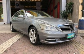 2nd Hand Mercedes-Benz S-Class 2010 Automatic Gasoline for sale in Pasig