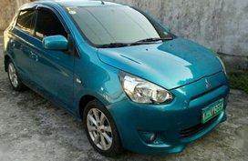 Sell 2nd Hand 2014 Mitsubishi Mirage Automatic Gasoline at 66000 km in Baliuag