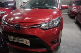 Red Toyota Vios 2018 for sale in Pasig